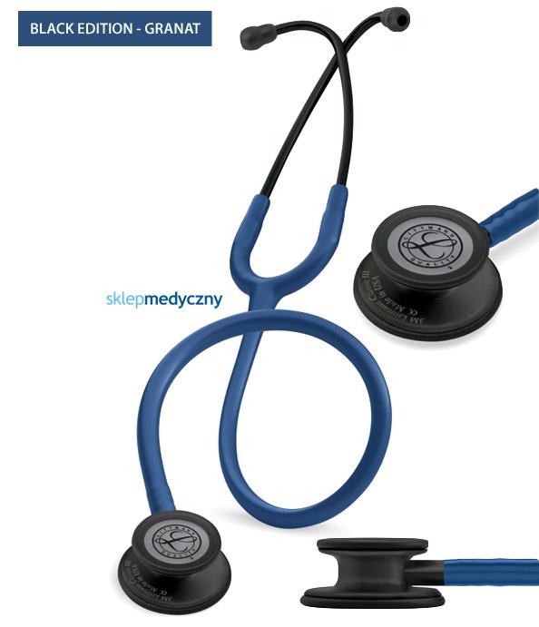 Stetoskop Littmann Classic III Black Edition - granatowy