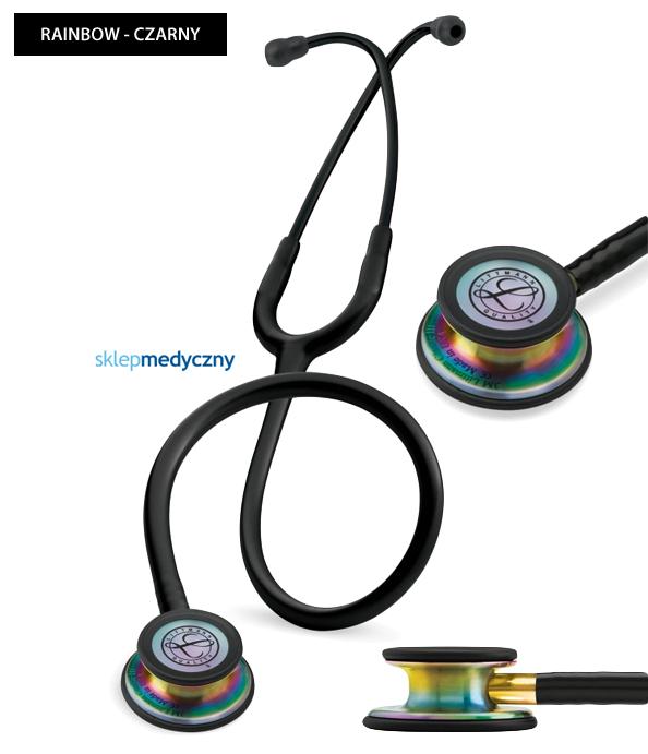 Stetoskop Littmann Classic III Rainbow Edition 5870 czarny