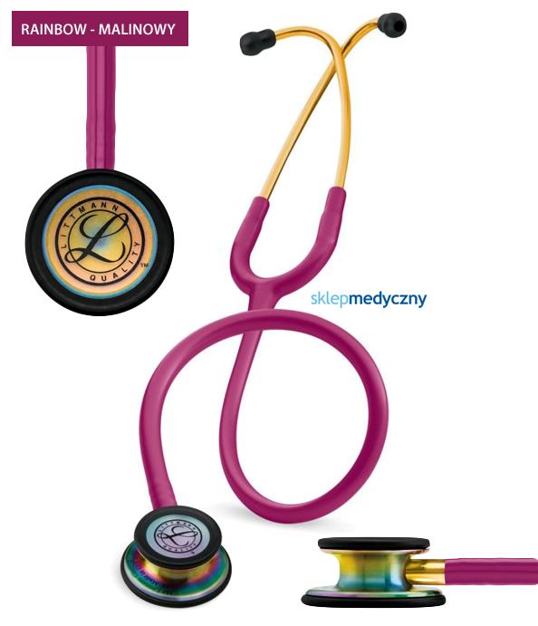 Stetoskop Littmann Classic III Rainbow Edition 5806 malinowy