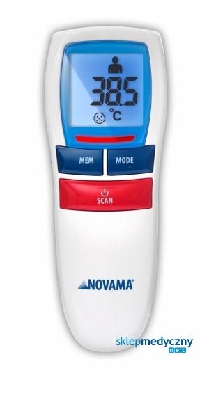 B³yskawiczny termometr bezdotykowy NOVAMA FREE