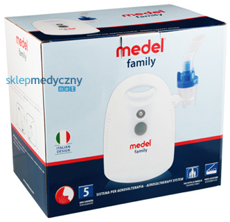 NOWO¦Æ! Inhalator pneumatyczno-t³okowy Medel Family