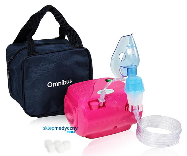 Inhalator t³okowy OMNIBUS BR-CN116 ró¿owy