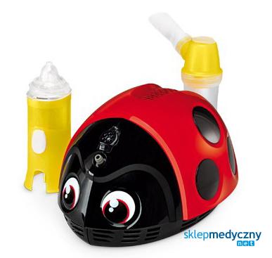 Inhalator dla dzieci Biedronka Mr Beetle Lella la coccinella