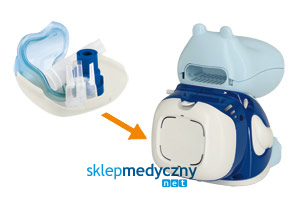 Inhalator dla dzieci PIC Solution Mr HIPPO