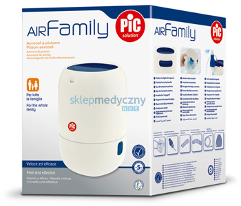 Inhalator t³okowy PIC Solution AiR Family II