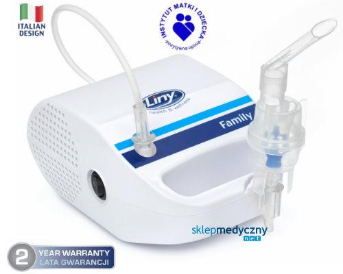 Inhalator pneumatyczny do u¿ytku domowego Liny Family