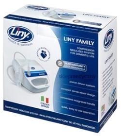 Inhalator pneumatyczny Liny Family - opakowanie