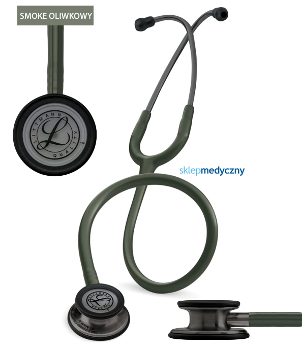 Stetoskop Littmann Classic III Smoke Edition oliwkowy 5812