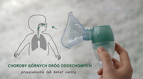 Omron DuoBaby - nebulizator górne drogi oddechowe